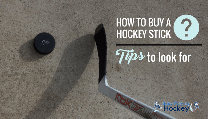 how to buy a hockey stick