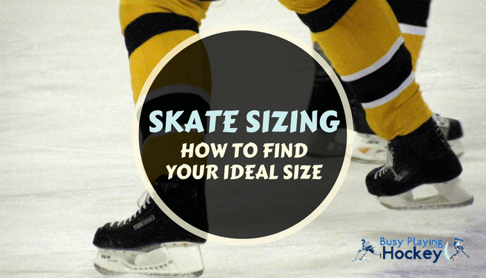 how to size hockey skates