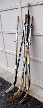 sizes of hockey sticks